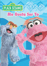 Plaza Sesamo Me Gusta Ser Yo DVD Children Kids Spanish Movie 60 Minutes New