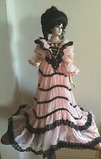 """Franklin Mint Doll """"Victoria"""" Coca-Cola Gibson Girl-Gorgeous.             #2375"""