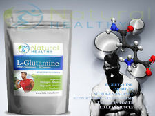 L-GLUTAMINE MUSCLE GAIN SUPPORTS PROTEIN SYNTHESIS IMPROVES NITROGEN BALANCE