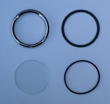 Austin Healey 100 Smiths Instrument Bezel and Glass Refurbishment Kit 2 inch