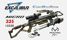 NEW 2016 Excalibur Matrix Micro 335 Realtree Xtra Lite-Stuff Crossbow Package