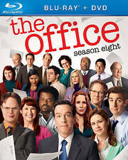THE OFFICE SEASON EIGHT Blu-ray + DVD NEW!!!FREE FIRST CLASS SHIPPING !!
