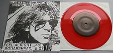 "Iggy Pop - Feel Alright / Squarehead Red Vinyl 7"" Foldover Sleeve"