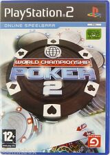 PlayStation 2 WORLD CHAMPIONSHIP POKER 2 jeu video pour console Sony texas olden