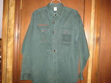 Explorer Long Sleeve Shirt neck 15 1/2 1960s heavy material      A3