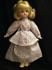 """Vintage 18 1/2"""" Porcelain Doll No Markings Collectible Gift"""