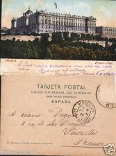 ANTIGUA POSTAL DE MADRID PURGER . PALACIO REAL . MIRA MAS EN MI TIENDA  CDCP555
