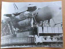 Russian Real Photo Space Cosmos Ship Craft Start Rocket Energy Shuttle Buran Fly