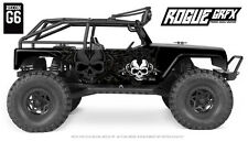 Axial G6 Wrangler Jeep Body Graphic Wrap Skin- Dagger Skull