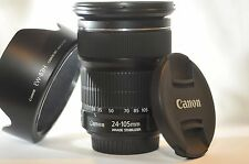 Canon EF 24-105mm f/3.5-5.6 STM IS Stabilizer lens for EOS T5 T6 60D 5D 7D 70D