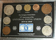 The Universal Postal Union (75th Anniversary of) Coin & Stamp Gift Year Set 1949