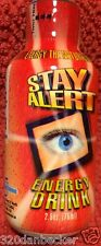 2008 STAY ALERT Energy Shot Drink RARE Full Collectors 2.5 oz FREE SHIPPING