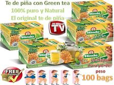 TE DE PINA PARA ADELGAZAR 5 CAJAS DE te de piña c/ dr ming pineapple green tea