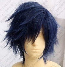 HOT!Uta no Prince-sama Ichinose Tokiya Short blue mix Cosplay wig free shipping