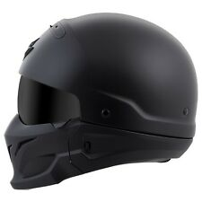 Scorpion Exo Covert Half Shell Helmet Matte Black New Size XL
