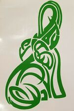 Tribal Elephant Decal Car/Truck/Window/Mirror  ***AVAILABLE 20 COLORS***