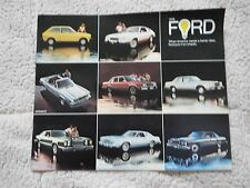 1978 FORD MUSTANG THUNDERBIRD PINTO GRANADA LTD II DEALER SALES BROCHURE