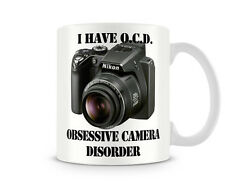 OCD_034 I Have O.C.D. - Obsessive Camera Disorder mug, funny custom personalised