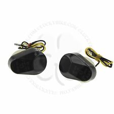Smoke LED Flush Mount Turn Signal Blinker Marker Yamaha YZF R1 R6 R7 600 750 FZ1