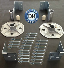 Boat Dock Hardware Kit - build a STRONG dock or pier.
