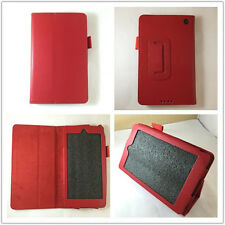 "FUNDA CARCASA NUEVO TABLET KINDLE FIRE HD 7 7"" SOSTENIBLE COLOR ROJO"