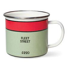 Monopoly Mug Fleet Street Enamel Brand New Novelty Gift Classic Board Game Based