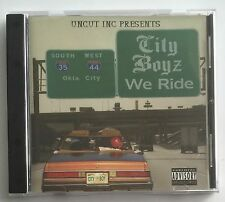 Uncut Inc Presents CITY BOYZ We Ride [2005] SUPER RARE G-FUNK
