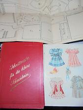 12072 Schnittmuster für die kleine Schneiderin 1890 Schnittmuster Puppenkleider