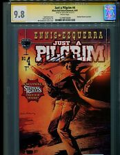 JUST A PILGRIM 4 CGC SS 9.8 AUTO/ GARTH ENNIS-1ST APP SHADOW REAVERS(PREVIEW)