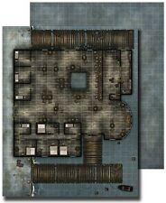 Paizo GameMastery Flip-Mat - Waterfront Tavern Used Pathfinder D&D