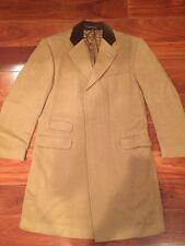 Ralph Lauren Purple Label Size 38 R 100% Camel Hair Coat Made in England