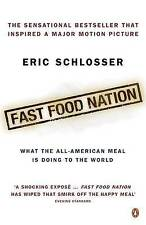 Fast Food Nation Eric Schlosser hand SIGNED Autograph NEW burger health weight
