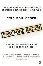 Fast Food Nation Eric Schlosser hand SIGNED Autographed NEW American Diet Health