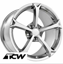 "17""/18"" Chevy Corvette C6 Grand Sport OE Replica Chrome Wheels Rims fit C5 97-04"