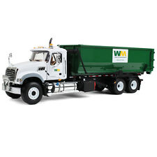 NEW STYLE 2016 WM MACK ROLL OFF GARBAGE TRUCK W/ DUMPSTER TUB  by first gear