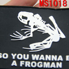 1PC Spatch Special Seals Skull Frog Patch Badge Magic Stick Skeleton Patches New