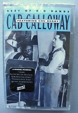 Cab Calloway Chu Berry Best of Big Bands Cassette Tape New 1993 Reefer 16trks