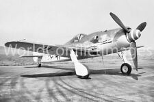 Luftwaffe WW2 FW 190D Fighter #2 8x10 Photo Highly Detailed German WWII