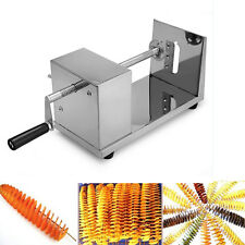 Spiral Chips Machine Spiral Slicer Twist Pomme de Terre Légumes fruit Cutter