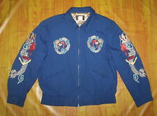 TAILOR TOYO Hand Embroidery Sun Rise USN Dragon Souvenir Sukajan Jacket Japan