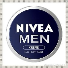 NEW NIVEA MEN CREAM Top PRICE Creme Face Body & Hands moisturiser dry skin,30 ML