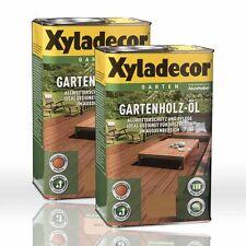 2 x Xyladecor Gartenholz-Öl Natur natur dunkel 2,5l Holzöl Gartenöl