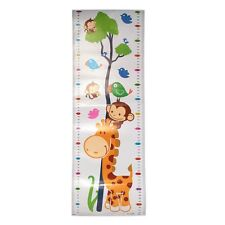 Removable 1Pc Height Chart Growth Measure Decal Wall Sticker For Kids