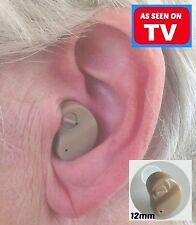AS SEEN ON TV!! MICRO MINI Sound Amplifier Tiny Little Aid for better Hearing UK