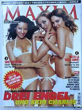 Maxim 8/2003, Ashanti, Mariella Ahrens, Charlies Angels, Jenson Button,