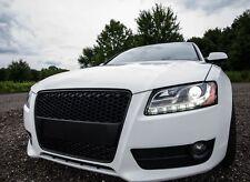 RS5 Grill Look für Audi A5 8T DTM Wabengrill Stoßstange Gitter Blende S5 #03