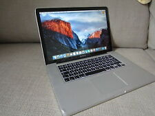 MacBook Pro (15,4 Zoll) Laptop (April 2009) 500GB, 8GB RAM, Unibody
