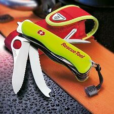 Brand New Victorinox Swiss Army Rescue Tool Pocket Knife with Pouch