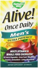 Nature's Way Alive! Once Daily Men's Ultra Potency Multivitamin, 60 Ct (3 Pack)
