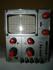 Vintage Telequipment Oscilloscope Model S54A One Channel Working